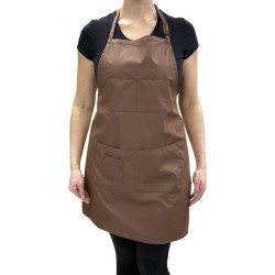 Vinyl Apron (9087) - Brown
