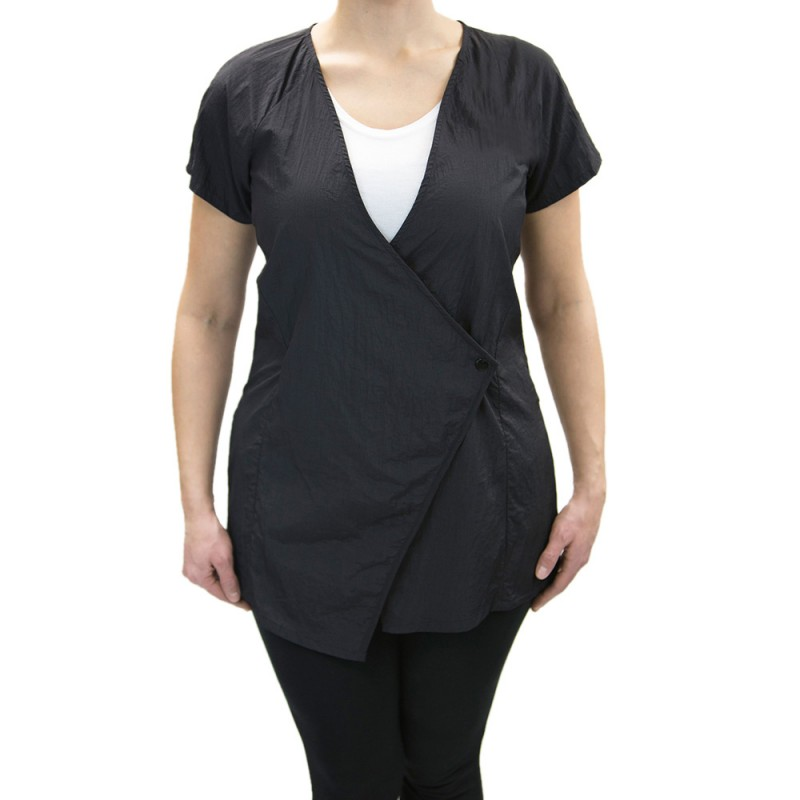 Dion Jacket (9201) with Custom Name Logo Embroidery Salon Stylist Hairdresser Smock Uniforms