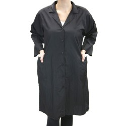 Lab Coat -Long (9048) - Black
