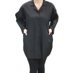 Lab Coat -Short (9040) - Black