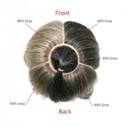 Grey Hair 5-Zone