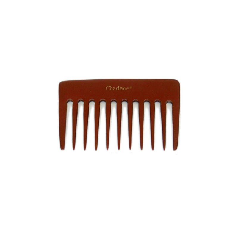 Small Styling Feathering Bone Comb