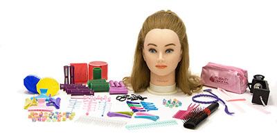 My BeautyShop Pal, Sara Doll and Hair Accessory Tool Kit