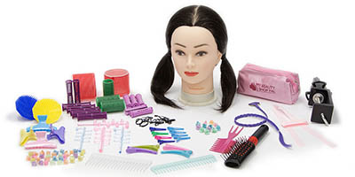 My BeautyShop Pal, MeiMei Doll and Hair Accessory Tool Kit