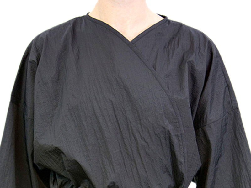 Black - Long Kimono