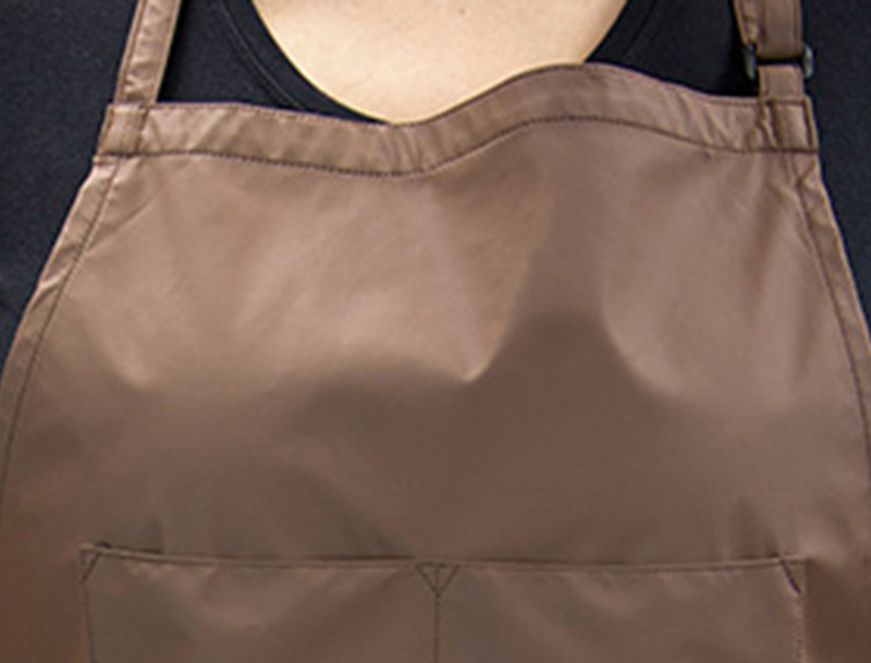 Brown - Vinyl Apron